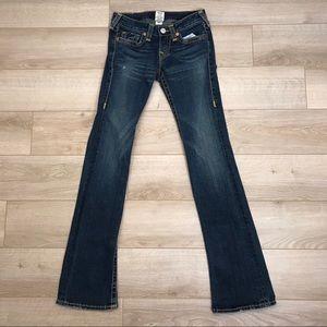 Rare Authentic True Religion   Gina Big T Jeans